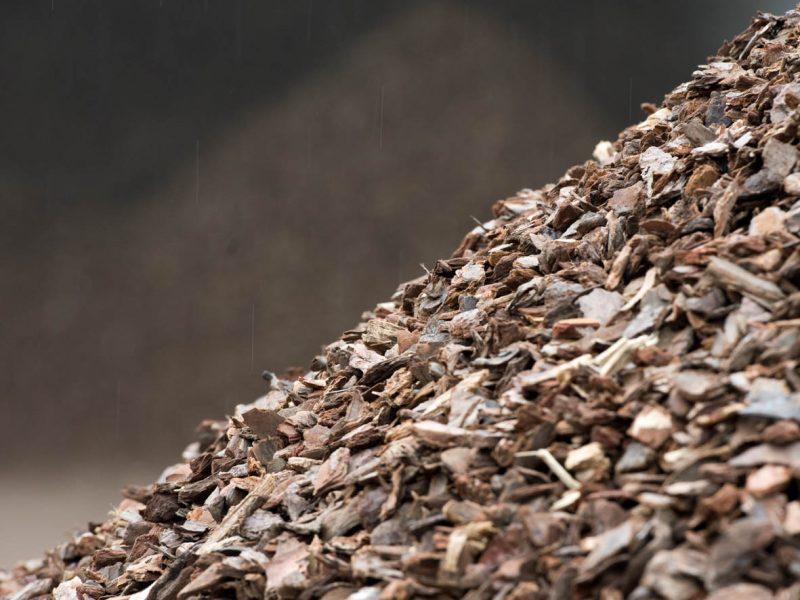 BVB Landscaping Halfverharding Schors Valveilig boomschors Pinus Maritima TUV
