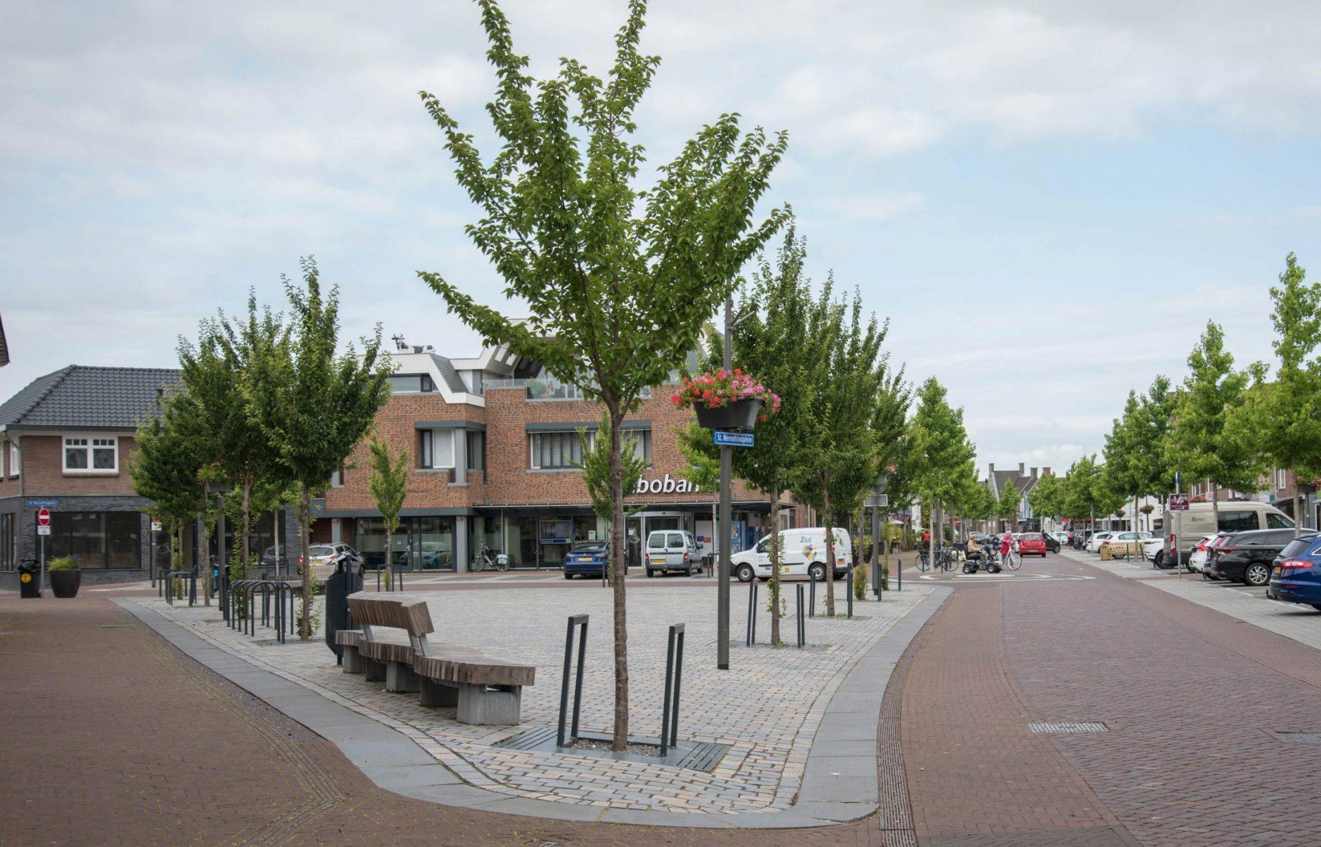 Elst centrum herinrichting BVB Landscaping